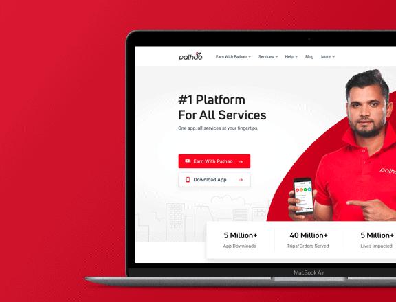 Pathao-Website