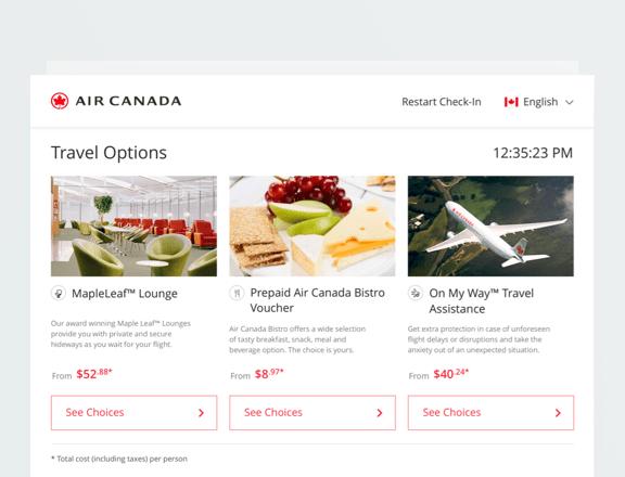 Air Canada Kiosk-Nadim